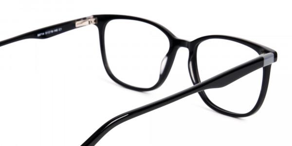 New-shiny-and-glossy-Black-Wayfarer-and-Rectangular-Glasses-Frames-5