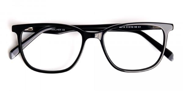New-shiny-and-glossy-Black-Wayfarer-and-Rectangular-Glasses-Frames-6