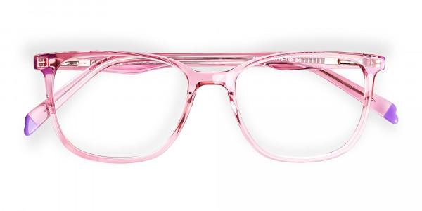 Crystal-pink-Wayfarer-and-Rectangular-Glasses-Frames-6