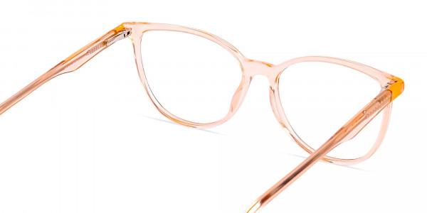 Orange-Colour-Crystal-Clear-or-Transparent-Cat-eye-Glasses-Frames-5
