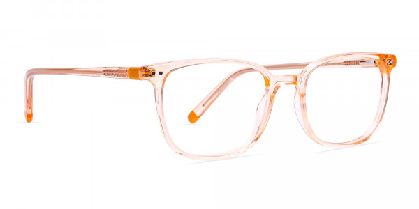Crystal-clear-and-Transparent-Orange-Rectangular-Glasses-Frames-2