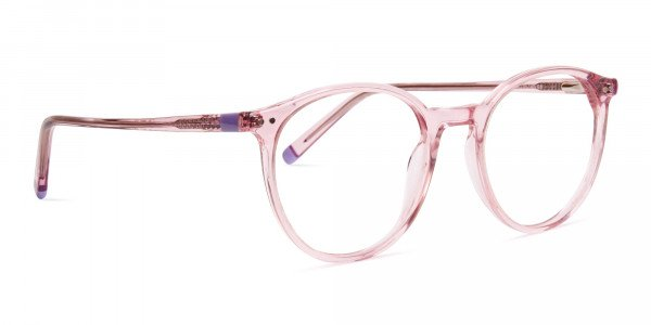 transparent-or-crystal-clear-blossome-and-nude-pink-round-glasses-frames-2