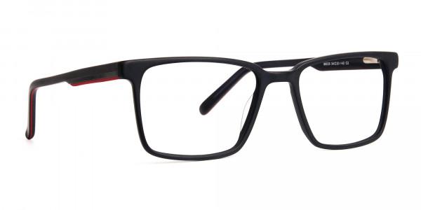 Matte-Black-Designer-Rectangular-Glasses-frames-2