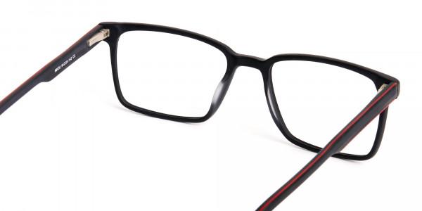 Matte-Black-Designer-Rectangular-Glasses-frames-5