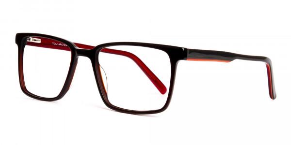 dark-brown-Rectangular-full-rim-Glasses-frames-3
