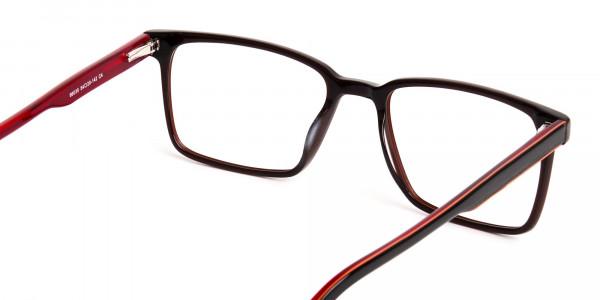 dark-brown-Rectangular-full-rim-Glasses-frames-5