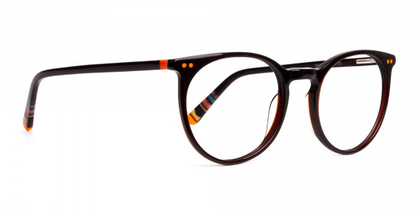 Dark-Light-Brown-Designer-Round-Glasses-frames-2