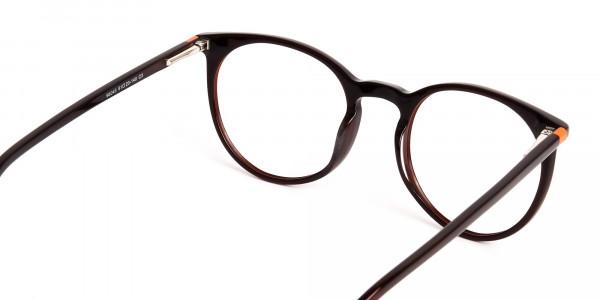 Dark-Light-Brown-Designer-Round-Glasses-frames-5
