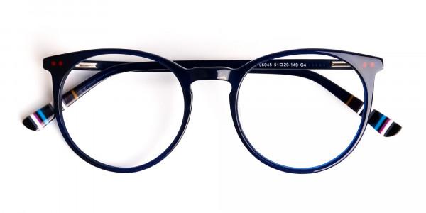 Bright-Indigo-Blue-Designer-Round-Glasses-frames-6