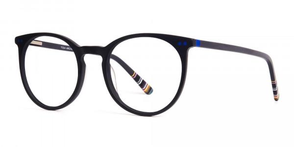 matte-black-indigo-blue-designer-round-glasses-frames-3