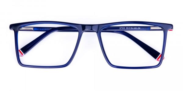 Navy-Blue-Fully-Rimmed-Rectangular-Glasses-6