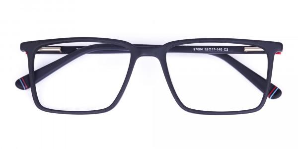 Matte-Black-Fully-Rimmed-Rectangular-Glasses-6