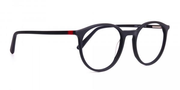 Matte-black-full-rim-Round-Glasses-frames-2