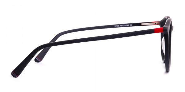 Matte-black-full-rim-Round-Glasses-frames-4