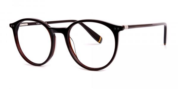 dark-brown-round-full rim-glasses-frames-3