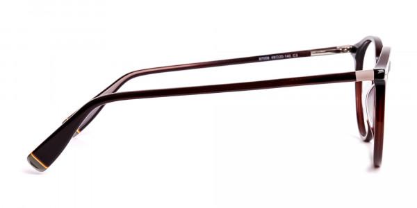dark-brown-round-full rim-glasses-frames-4