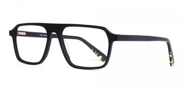 Matte-Grey-Rectangular-Full-Rim-Glasses-frames-3