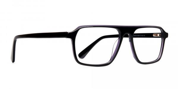 Black-and-Grey-Rectangular-Full-Rim-Glasses-frames-2