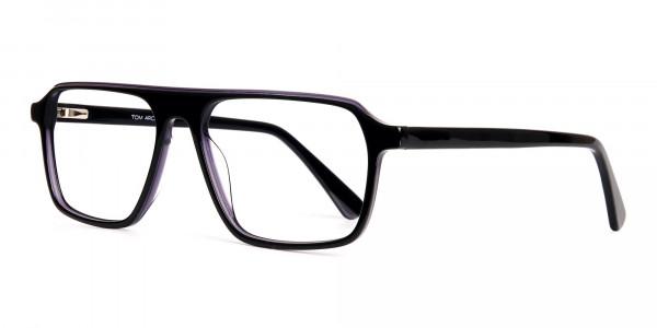 Black-and-Grey-Rectangular-Full-Rim-Glasses-frames-3