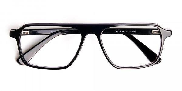 Black-and-Grey-Rectangular-Full-Rim-Glasses-frames-6