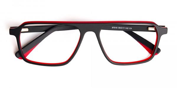 Black-and-Red-Rectangular-Full-Rim-Glasses-frames-6
