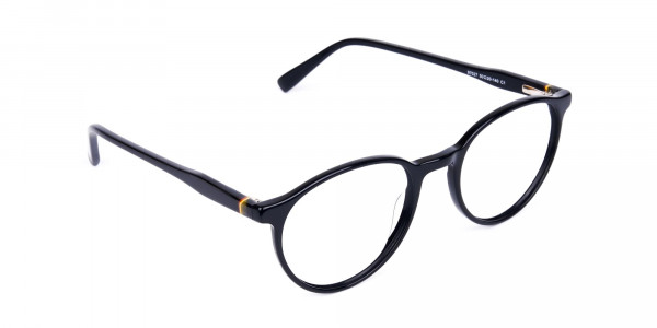 round blue light glasses-2