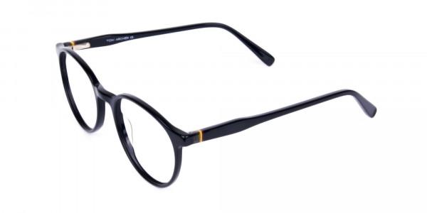 round blue light glasses-3