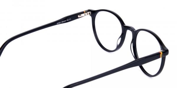 round blue light glasses-5