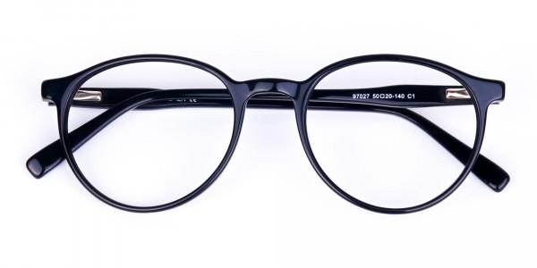 round blue light glasses-6
