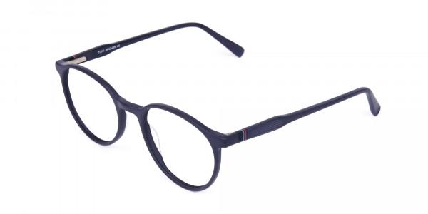 blue light glasses round frame-3
