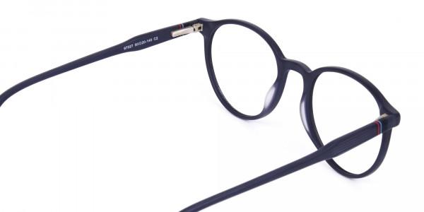 blue light glasses round frame-5