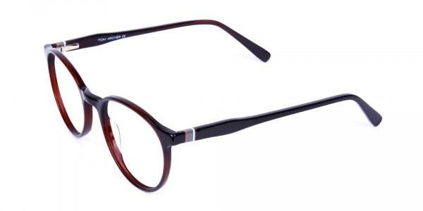 blue light round glasses-3