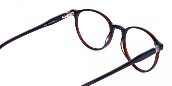 blue light round glasses-5