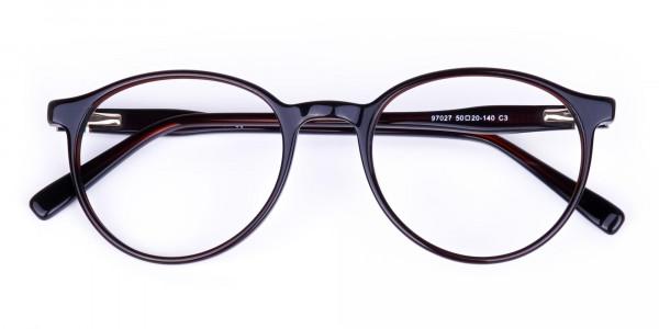 blue light round glasses-6