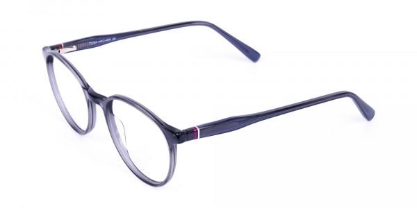 circle blue light glasses-3