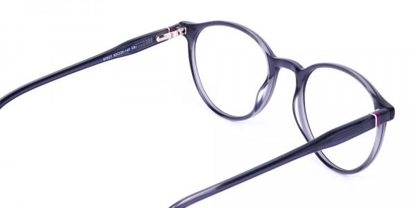 circle blue light glasses-5