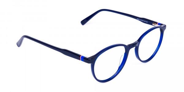 circular blue light glasses-2