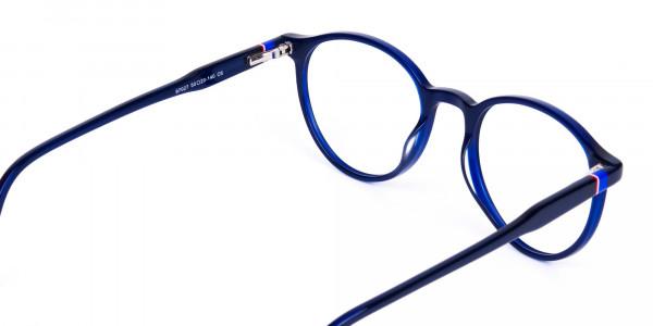circular blue light glasses-5
