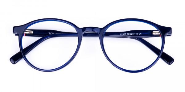 circular blue light glasses-6