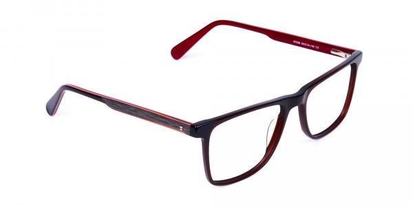 Dark-Brown-Rimmed-Rectangular-Glasses-2