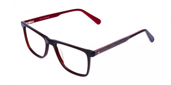 Dark-Brown-Rimmed-Rectangular-Glasses-3