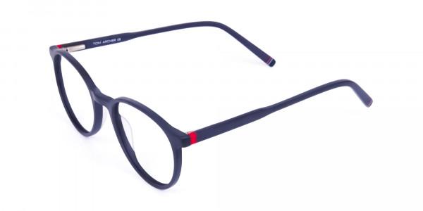 Matte-Black-Rimmed-Round-Glasses-3