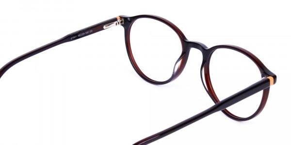 Dark-Brown-Rimmed-Round-Glasses-5