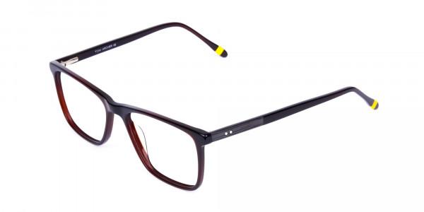 Dark-Brown-Full-Rimmed-Rectangular-Glasses-3
