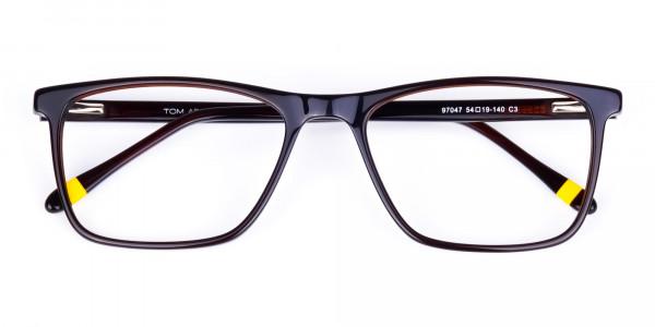 Dark-Brown-Full-Rimmed-Rectangular-Glasses-6