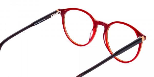korean circle glasses-5