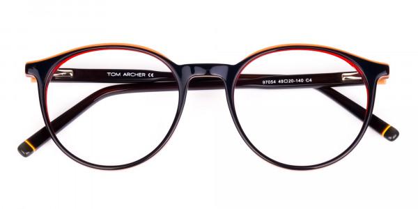 korean circle glasses-6
