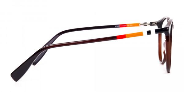 Dark-Brown-Round-Full-Rimmed-Glasses-4