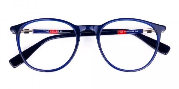 Navy-Blue-Round-Full-Rimmed-Glasses-6
