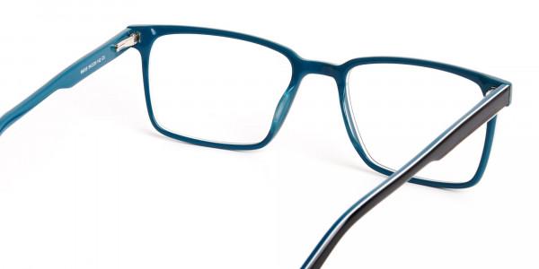 Black-and-Teal-Designer-Rectangular-Glasses-frames-5